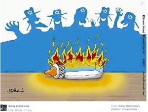Ramy-Alshorbasi-Screenshot-Cartoon-Jews-laughing-milk