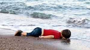 Drowned Syrian child (Bodrum, Turkey)