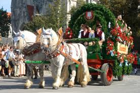 "Festive carriage from ""Spaten Bräu"""