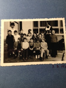 My kindergarten group, April 1961