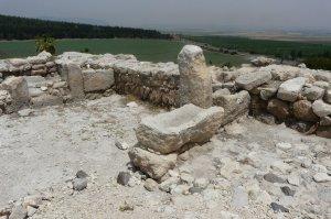Pferdetränken in den Ställen des Salomon (Meggido)